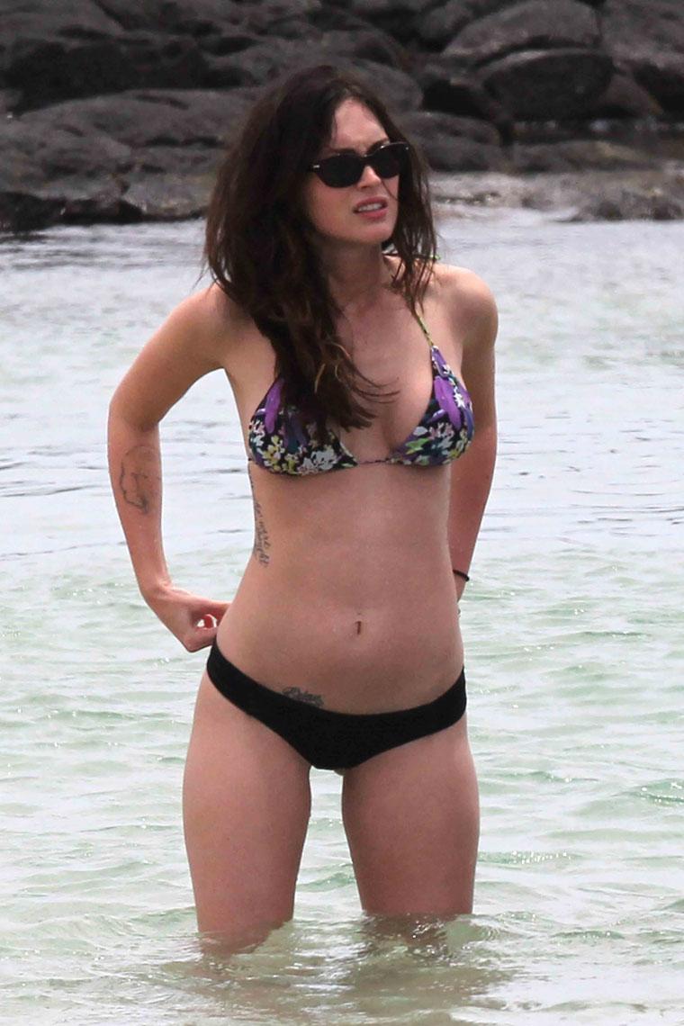 Megan Fox and her sexy bikini side - Celeb Jihad Celebrity